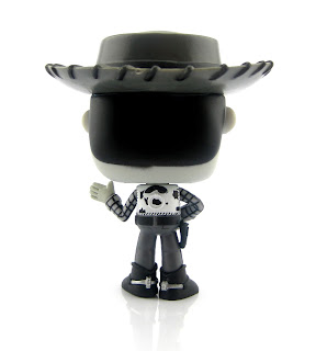 toy story woody funko pop woody's roundup black and white