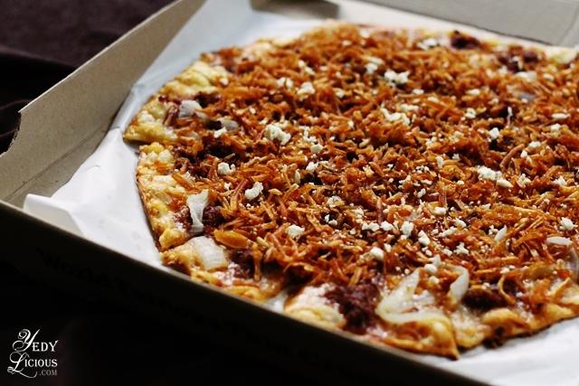 Corned Beef Crrrunch Pizza by Shakey's