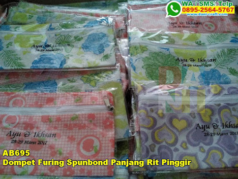 Toko Dompet Furing Spunbond Panjang Rit Pinggir