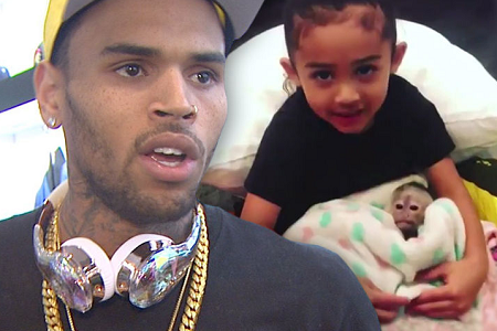 Monkey Seen With Chris Brown's Daughter Isn't Hers