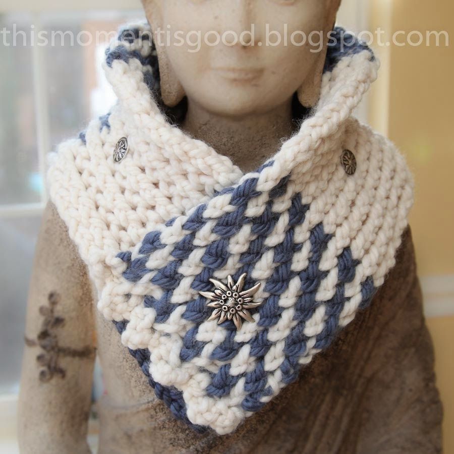 LOOM KNIT SAMPLER COWL/SCARF | Loom Knitting by This ...
