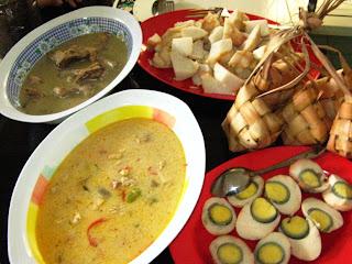 Resep masakan betawi sayur ketupat labu siam kandangan lebaran sayur pepaya muda padang kacang panjang ketoprak cirebon jakarta solo enak istimewa sederhana diah didi spesial jtt sajian sedap makanan asli pokok tradisional