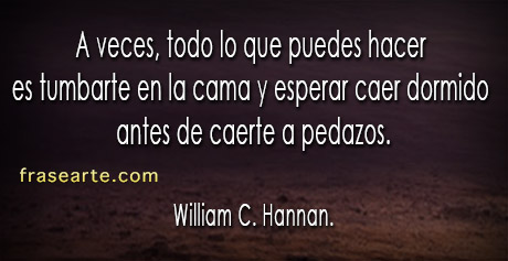Frases de William C. Hannan