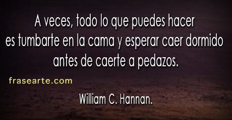 Frases de William C. Hannan