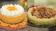 برنامج زعفران و فانيلا 20-11-2016 طريقة عمل قالب الأرز بالعجين - قالب البطاطس باللحم والمشروم - تشيز كيك البرتقال