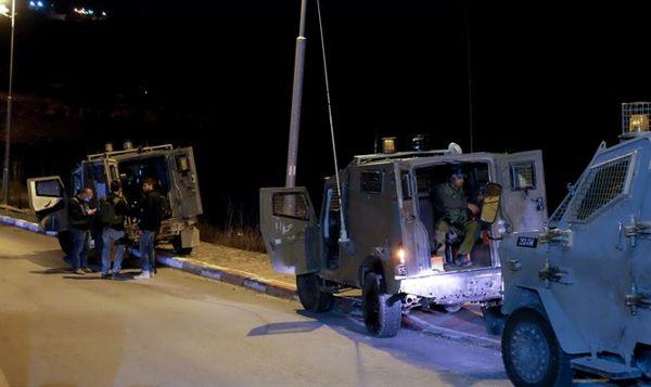 Fuerzas de Seguridad Desplegadas en Beitar