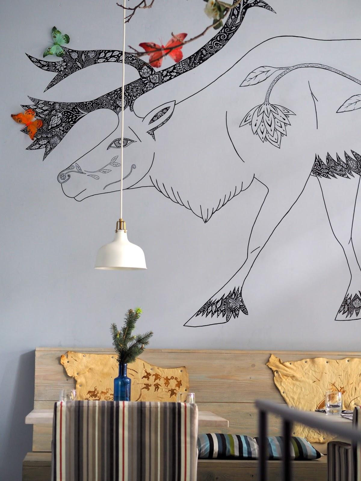 reinsdyr praha ryby restaurace skandinávie kuchyně