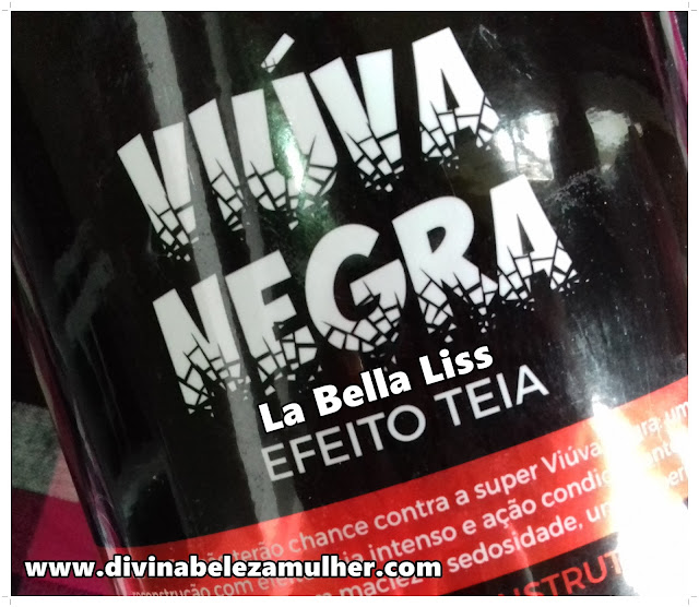 Mascara Reconstrutora Viúva Negra La Bella Liss
