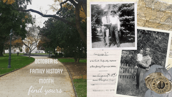 Family History Month - Desperately Seeking Surnames