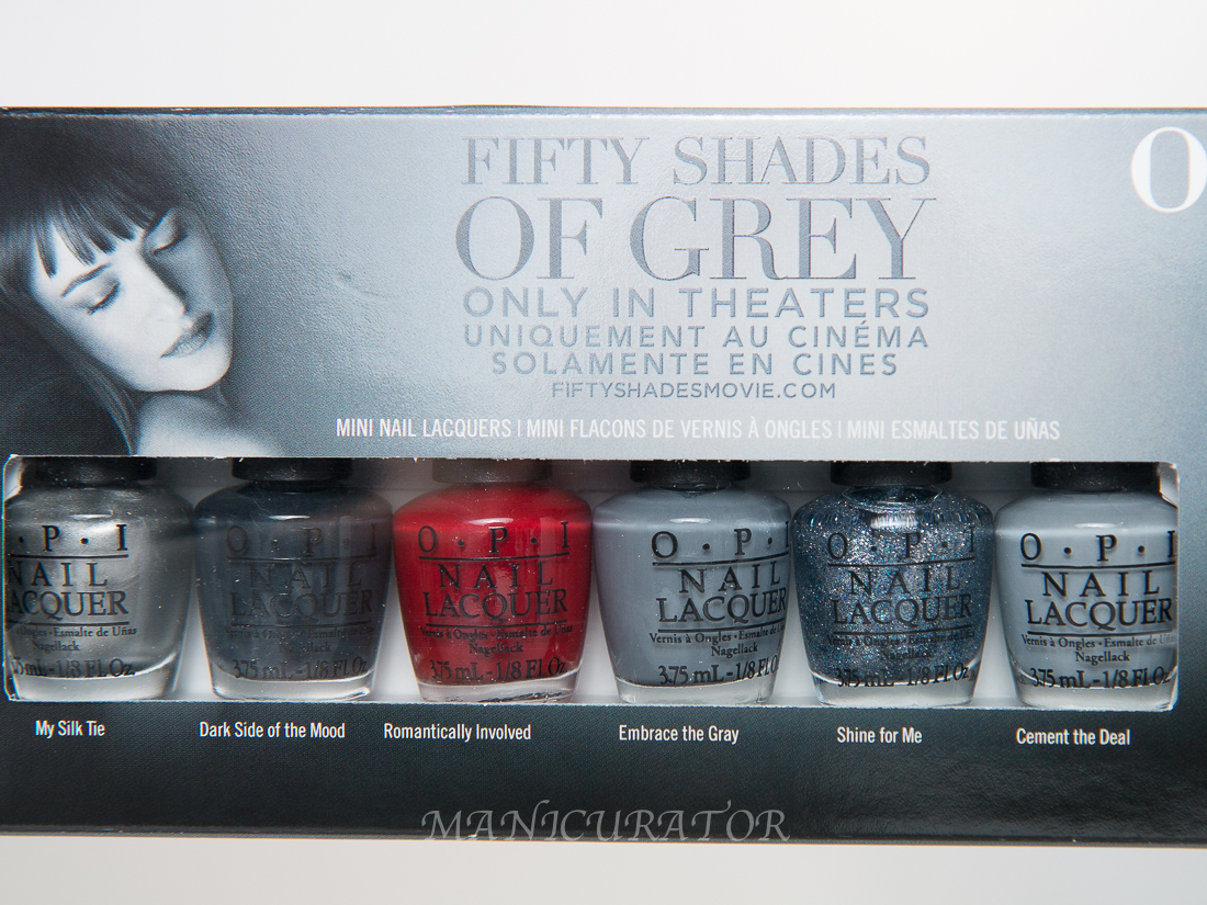 opi fifty shades of grey my silk tie shine for me embrace the a brand new in the box mini set of opi fifty shades open internationally enter through the rafflecopter good luck opi 50 shades of grey