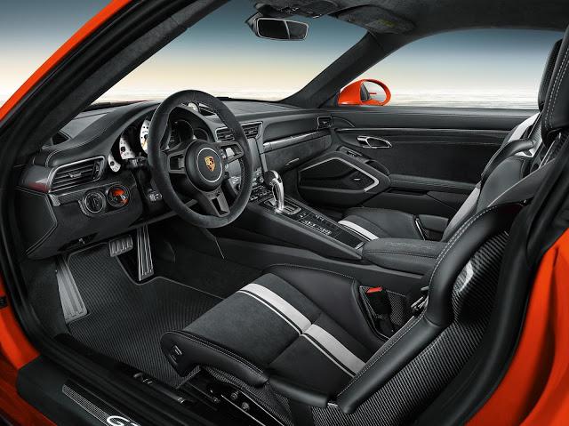 2018 Porsche 911 GT3 Specifications