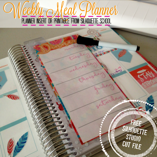 silhouette cameo print and cut, silhouette cameo planner accessories, planner stickers, planner inserts template diy
