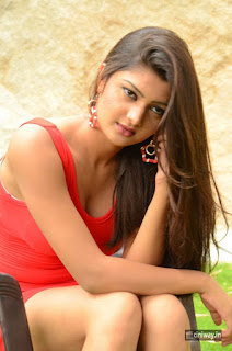 Poojitha Stills at Bullet Movie Launch