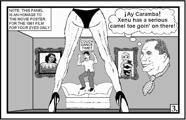 cameltoe margaret keane parody kitsch