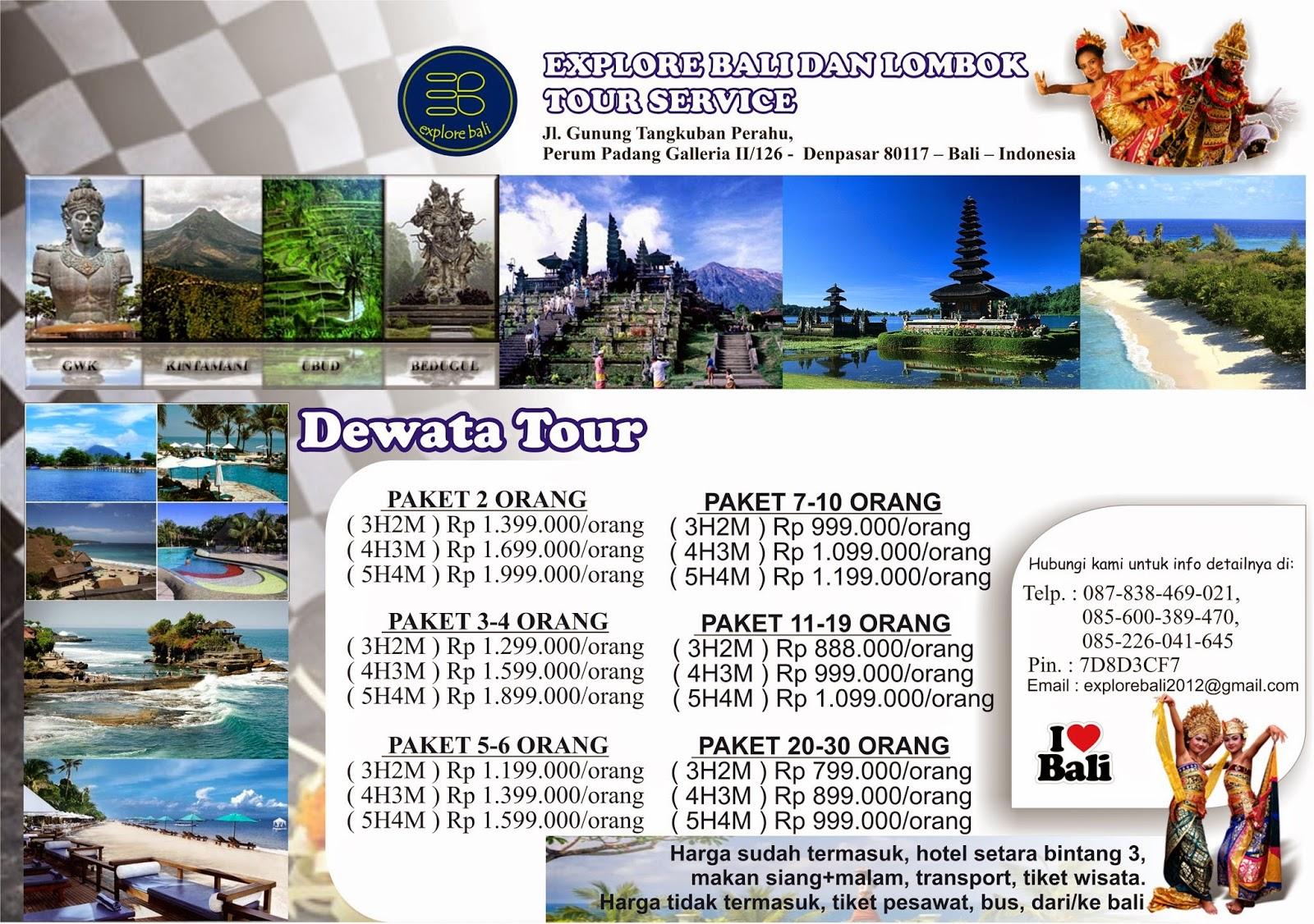 Paket TOUR Wisata Lombok dan Bali   blog pembelajaran