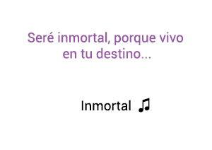 Oreja de Van Gogh Inmortal  significado de la canción.