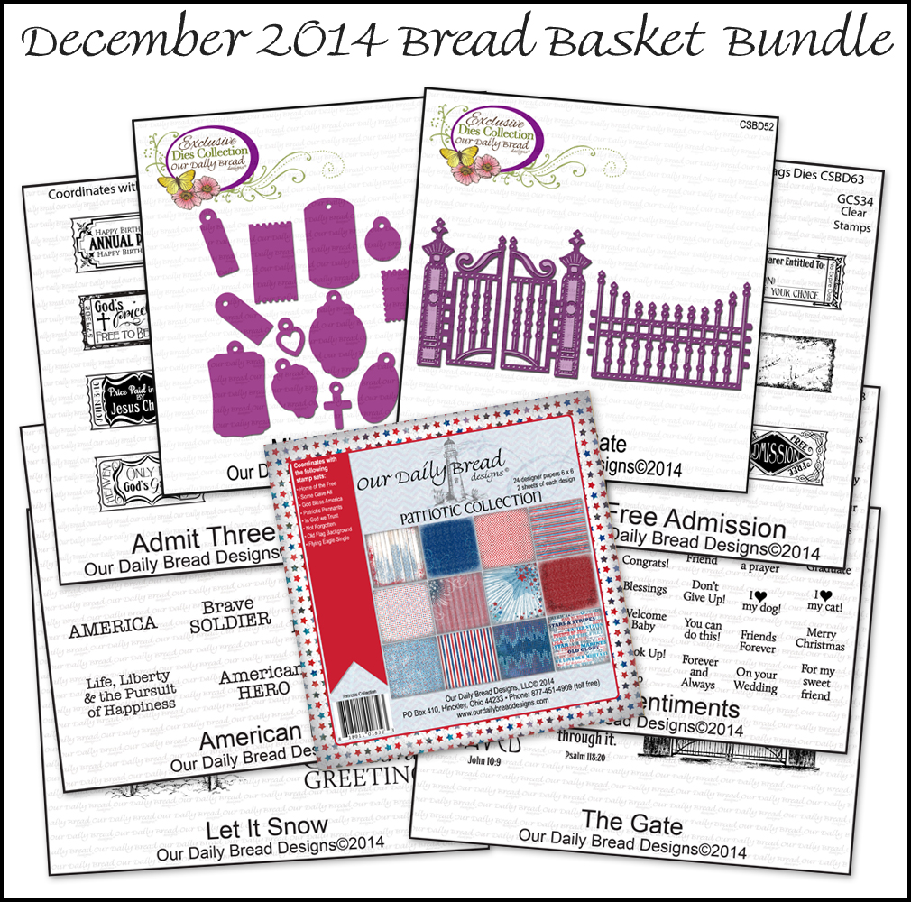 Our Daily Bread Designs December 2014 Bread Basket Bundle