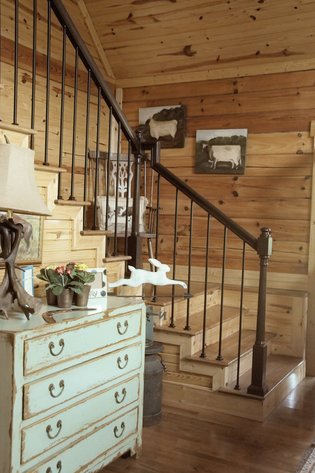 Wood Paneled Room Design: Some Country Inspiration, Cabin Decorating