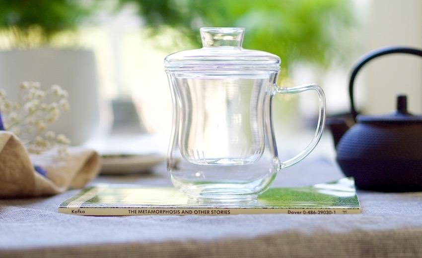 loose leaf tea cup