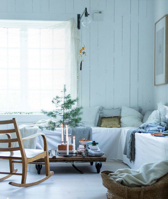 4 by fryd magazine, Christmas decorations in Jeanette Lunde's home