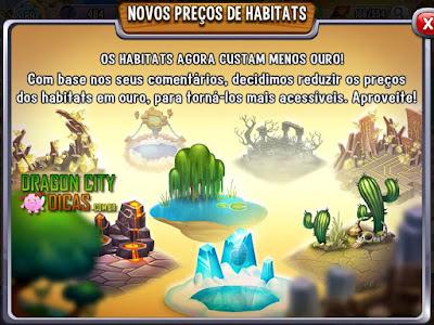 Nova Atualização nos Habitats!