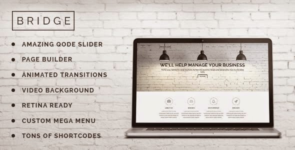 Download Free Bridge v6.5 Creative Multi-Purpose WordPress Theme
