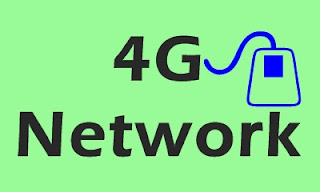 Here is a photo of the 4G network