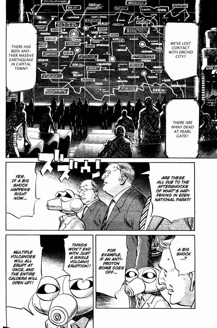 Page 14, Act 64: Sound of the End from Naoki Urasawa's Pluto Volume 8