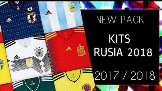 World Cup Russia 2018 NT Kitpack PES 2013