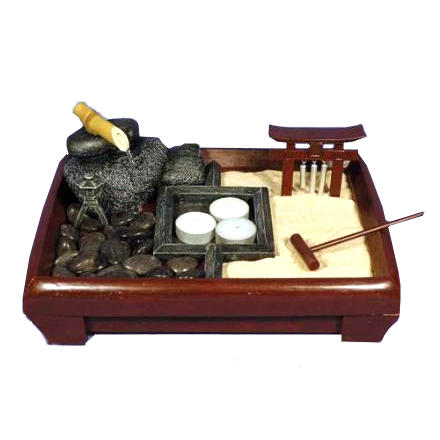miniatura de jardines zen jard n feng shui. Black Bedroom Furniture Sets. Home Design Ideas
