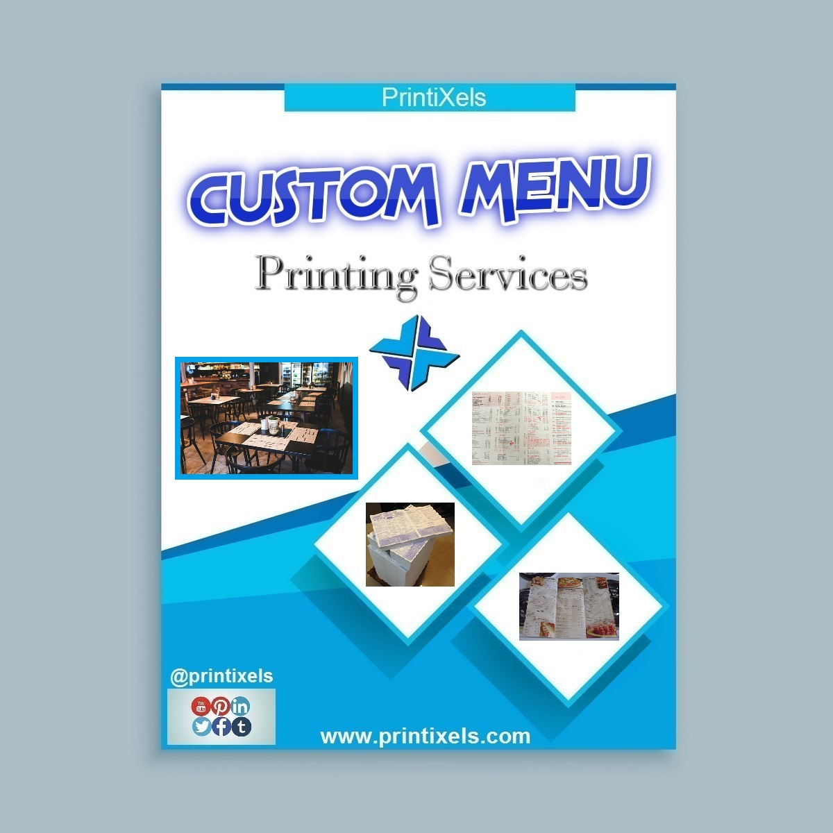 Custom Menu Printing Services
