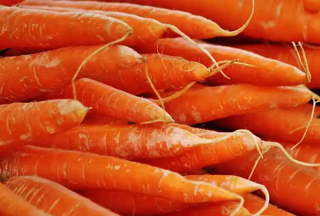 Properties of carrots