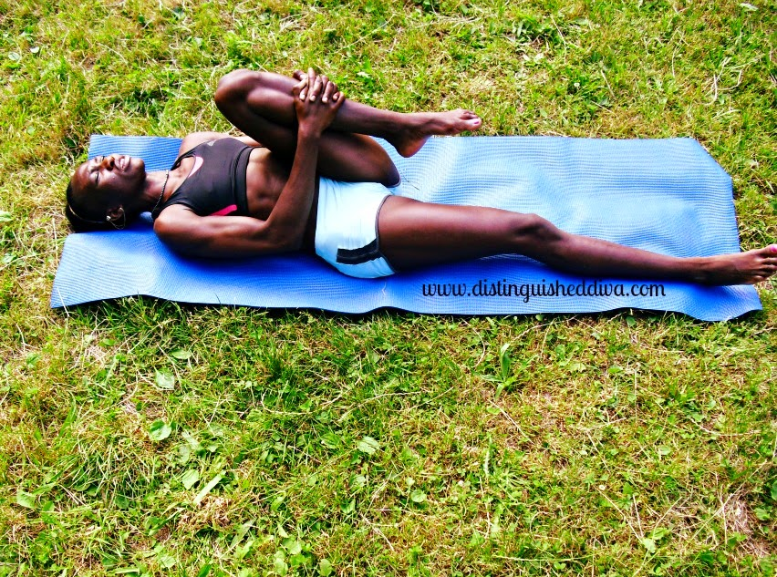 Yoga: Release Tension From Lower Back, Hips and Thighs With This Simple Yoga Pose