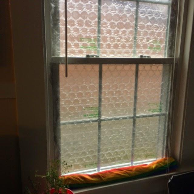 eifach und schnell Fenster isolieren