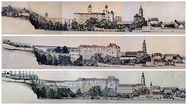 evolucion castillo de cesky krumlov