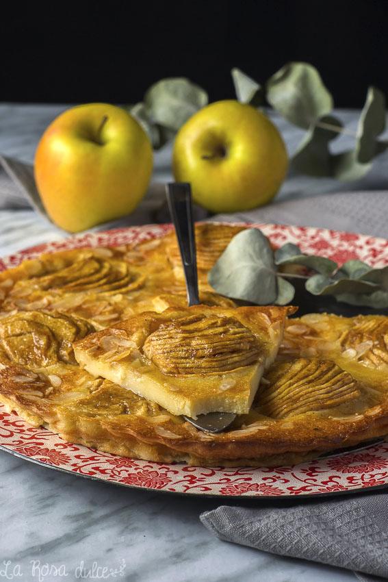Flognarde de manzana #sinlactosa #singluten