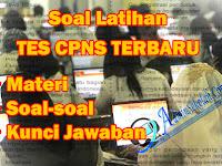 Download Soal Latihan Tes CPNS 2018 Dan Kunci Jawaban PDF Gratis