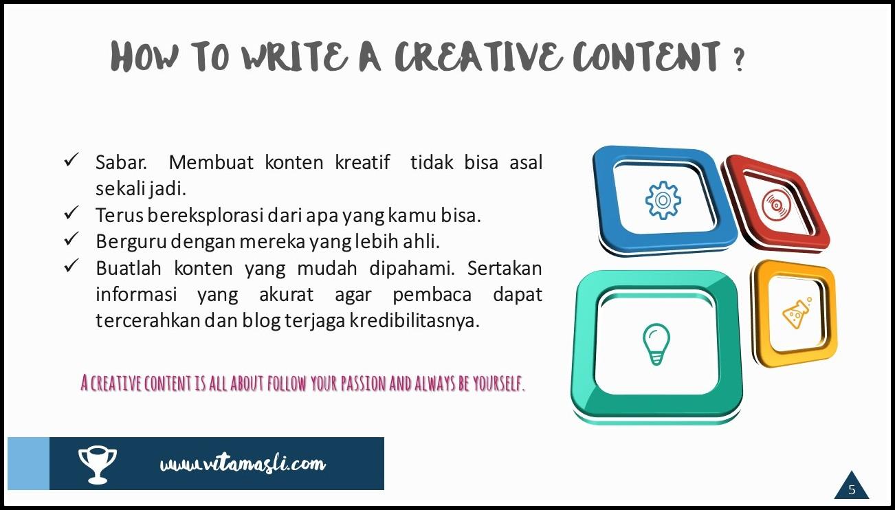 Bagaimana Membuat Konten Kreatif