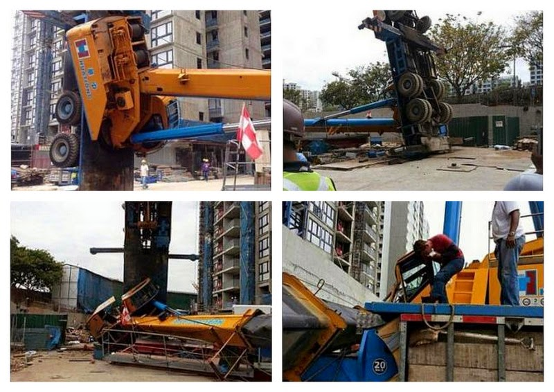 Singapore Suffered Multiple Crane Accidents in Two