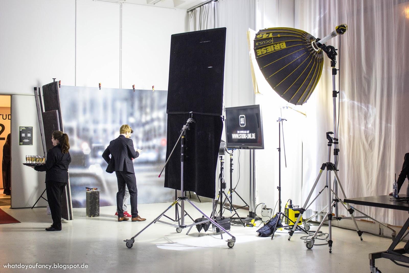 L'Oréal lud zum Launch der neuen Studio Line #TXT-Produkte + App #TXTMYSTYLE ein_Shootingfläche