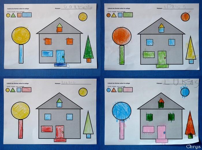 mon projet maison en maternelle