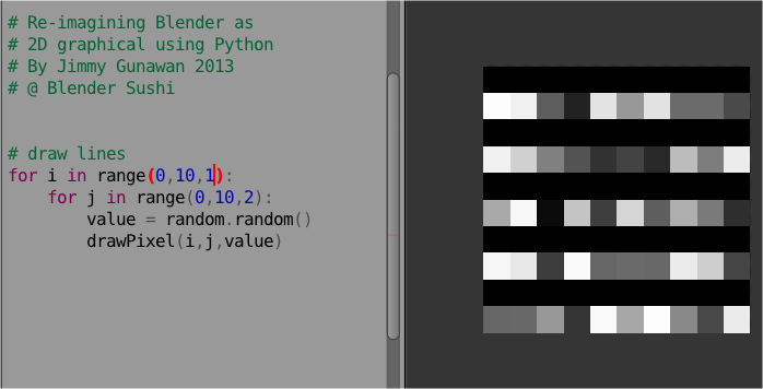 PYTHON / Pixel Art in Blender | Tutorial Art Design