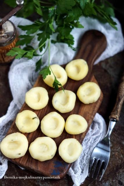 kluski, kluski slaskie, puree, ziemniaki, obiad, bernika, kulinarny pamietnik