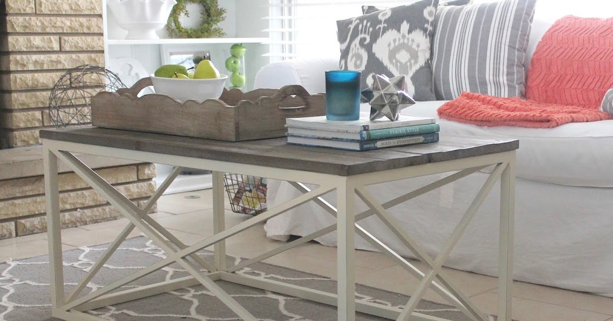 12th and white modern farmhouse coffee table for Modern farmhouse coffee table