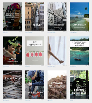 Steller, aplikasi cerita popular kisah perjalanan, kuliner, fashion, dan hal-hal