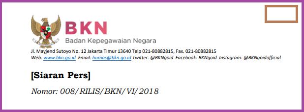 CPNS 2018 - Persiapan Infrastruktur Seleksi Penerimaan Oleh BKN