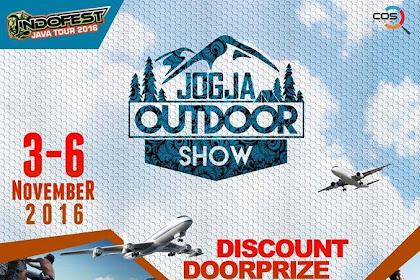 Hadir Lagi Jogja Outdoor Show ( JOS ) 3- 6 November 2016