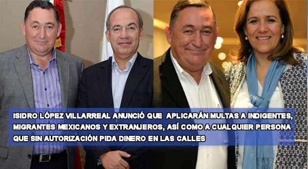 Alcalde del PAN multa a mexicanos que mendiguen y migrantes