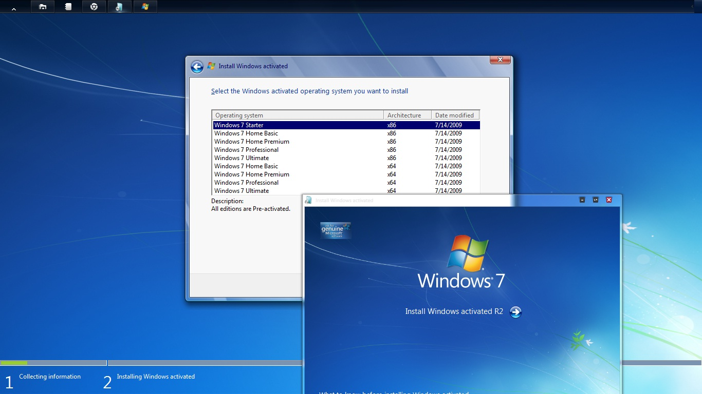 Install windows 7 activated r2 | Can't install Windows 7 KMS key on