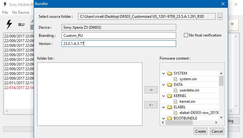 Cara Install Stock ROM Sony Xperia Dengan Flashtool & XperiFirm
